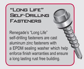 Long Life Self Drilling Fasteners