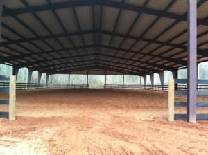 Steel Equestrian Arena
