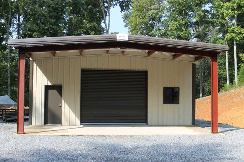 Residential steel buildings pre engineered residential for Pre engineered garage
