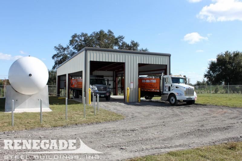 Industrial gallery renegade steel buildings industrial for 12x14 roll up door