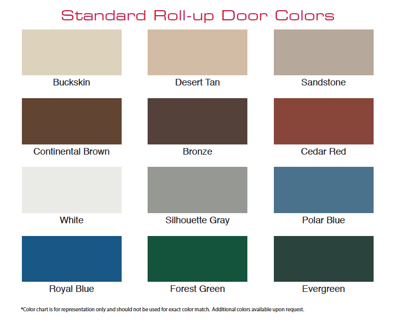 Steel Building Color Options