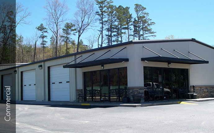 Steel buildings metal buildings renegade for 50x100 garage