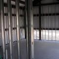 Interior Construction of Steel Building