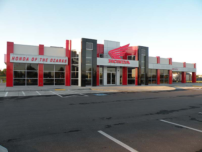 Commercial Steel Garages With An Overhand : Commercial steel building renegade buildings