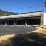 Commercial Steel Building Shopping Center