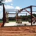 steel building under construction