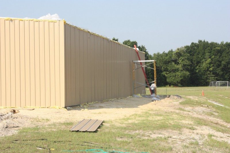 Steel sports complex baseball facility renegade steel for 12x14 roll up door
