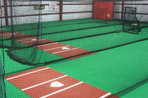 Baseball Facility in Steel Building