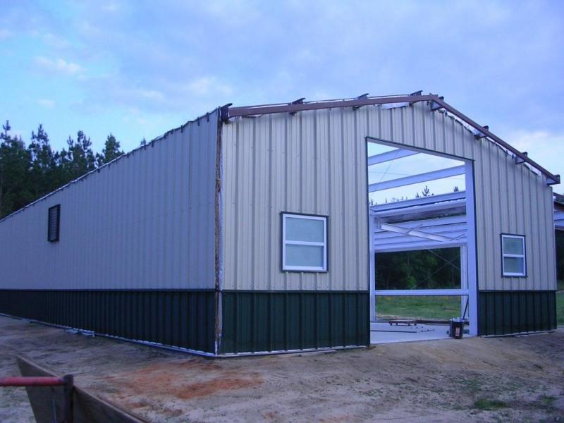 Agricultural Steel Buildings : Metal farm building renegade steel buildings
