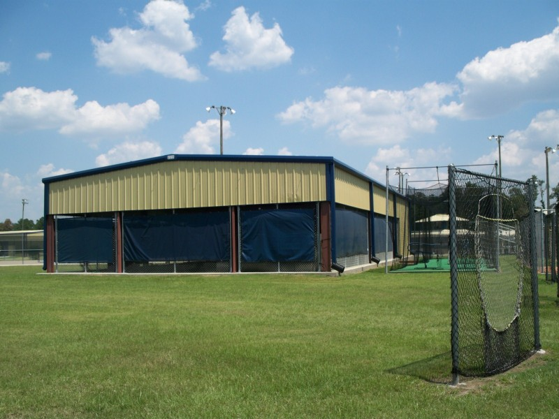 Metal Shelters For Batting Cage : Batting cages steel sports complex renegade